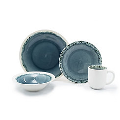 Blue Parker 16-pc. Dinnerware Set