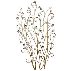 Charming Acrylic Branch Wall Plaque