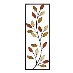 Vine Panel Framed Cut-Out Wall Plaque