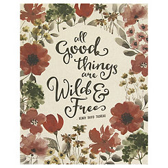 All Good Things Canvas Art Print