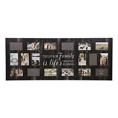 21-Opening Family Life Black Collage Frame