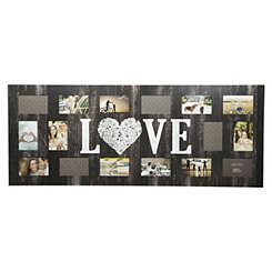 16-Opening Love Distressed Collage Frame