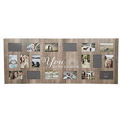 18-Opening My Sunshine Distressed Collage Frame