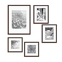 Walnut 5-pc. Gallery Wall Picture Frame Set