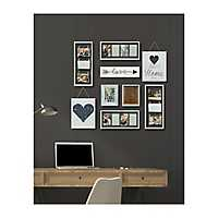 9-Pc. Heart Collage Frame Kit