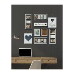 9-Pc. Heart Collage Frame Kit
