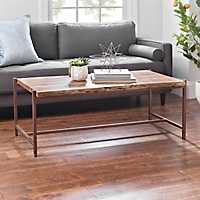 Sheesham Solid Natural Wood Coffee Table