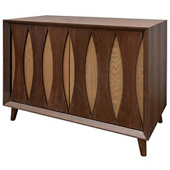Walnut Kylie 2-Door Cabinet