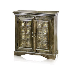Mango Bella 2-Door Wooden Cabinet