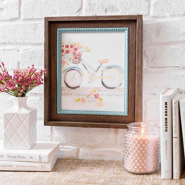 Bicycle Hymn Framed Art Print