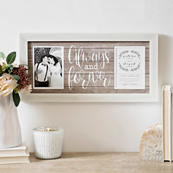 Always Forever Wedding Invitation Collage Frame
