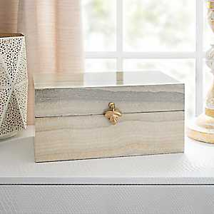 Decorative Box with Leaf Clasp