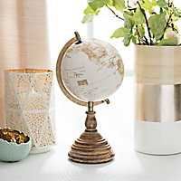 Vintage Golden Desk Globe