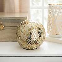 Gold Mosaic Orb