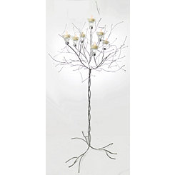 Silver Tree Candle Holder, 48 in.