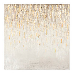 Gold Rush Luxe Canvas Art Print