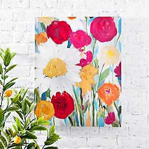 Daybreak Floral Canvas Art Print