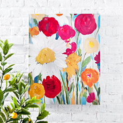 Daybreak Floral Canvas Art Print