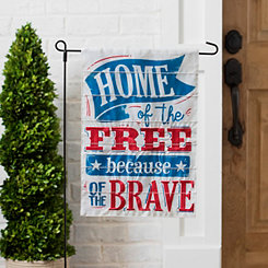 Home of the Free Because of the Brave Flag Set