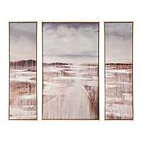 Cedar Lake Framed Canvas Art Prints, Set of 3