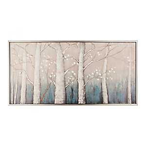 Echos in the Trees Framed Canvas Art Print