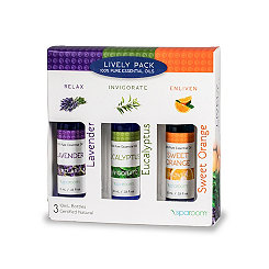 Lively Essential Oils, Set of 3