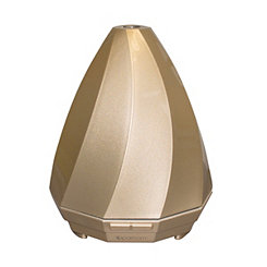 Gold Titan Geometric Essential Oil Diffuser