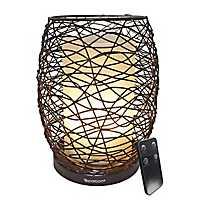 Enlighten Wire Essential Oil Diffusing Lantern