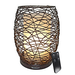 Enlighten Wire Essential Oil Diffusing Lantern