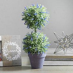 Lavender Topiary Arrangement, 18 in.