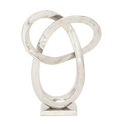 Silver Loop Statue
