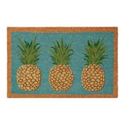 Glitter Pineapple Doormat
