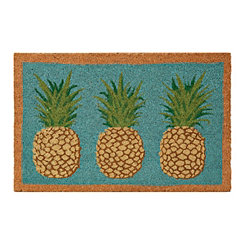 Glitter Pineapple Doormat