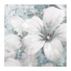 Primo Fiore Gray Left Canvas Art Print