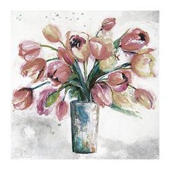 Soft Macro I Centerpiece Canvas Art Print