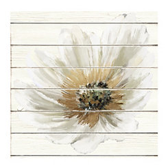 Enchanted Shiplap Canvas Art Print