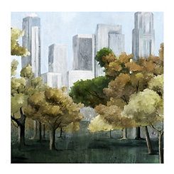 Parkview Canvas Art Print
