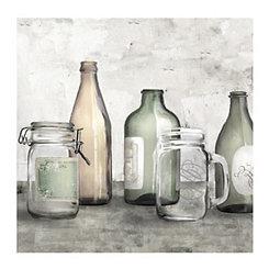 Bottles & Jars Canvas Art Print