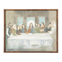 Last Supper Framed Art Print