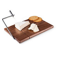 Walnut Cheese Board with Slicing Wire