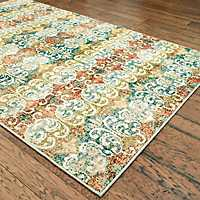 Scroll Dalton Area Rug, 5x8
