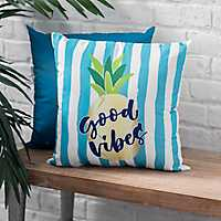 Good Vibes Pineapple Pillow