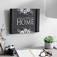 The Heart of this Home Wood Pallet Wall Plaque