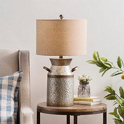 Owen Galvanized Jug Table Lamp