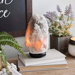 Gray Himalayan Salt Night Light