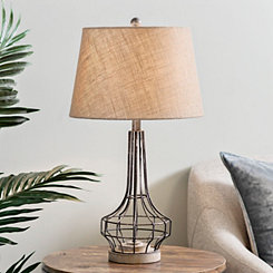 Gus Washed Metal Table Lamp