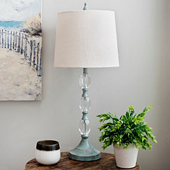 Blue Crystal Payton Table Lamp