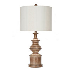 Light Brown William Table Lamp