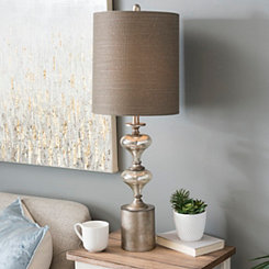 Jaxon Mercury Glass Table Lamp