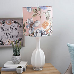 Lydia Floral Shade Table Lamp
